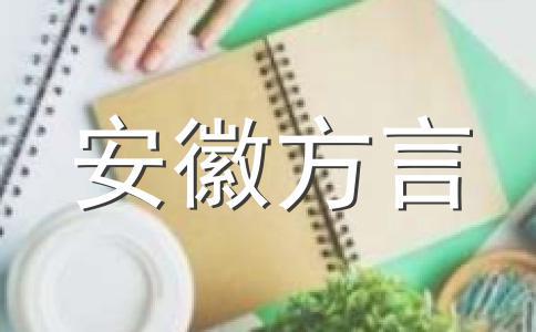 一句话方言安徽安庆话版
