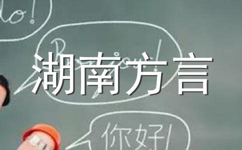 湖南省桃源话县长方言讲话闹笑话