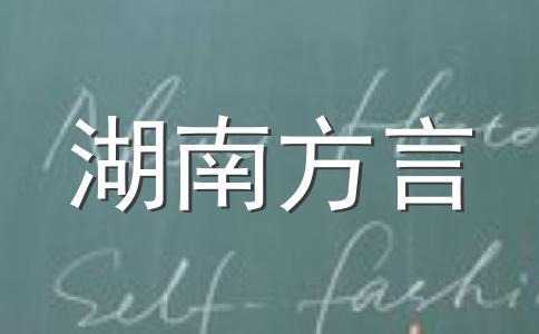 一句话方言湖南话版