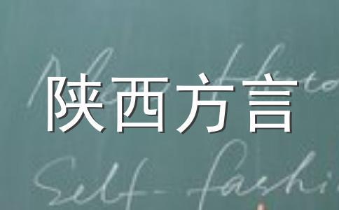 陕西(西安)方言写的情书